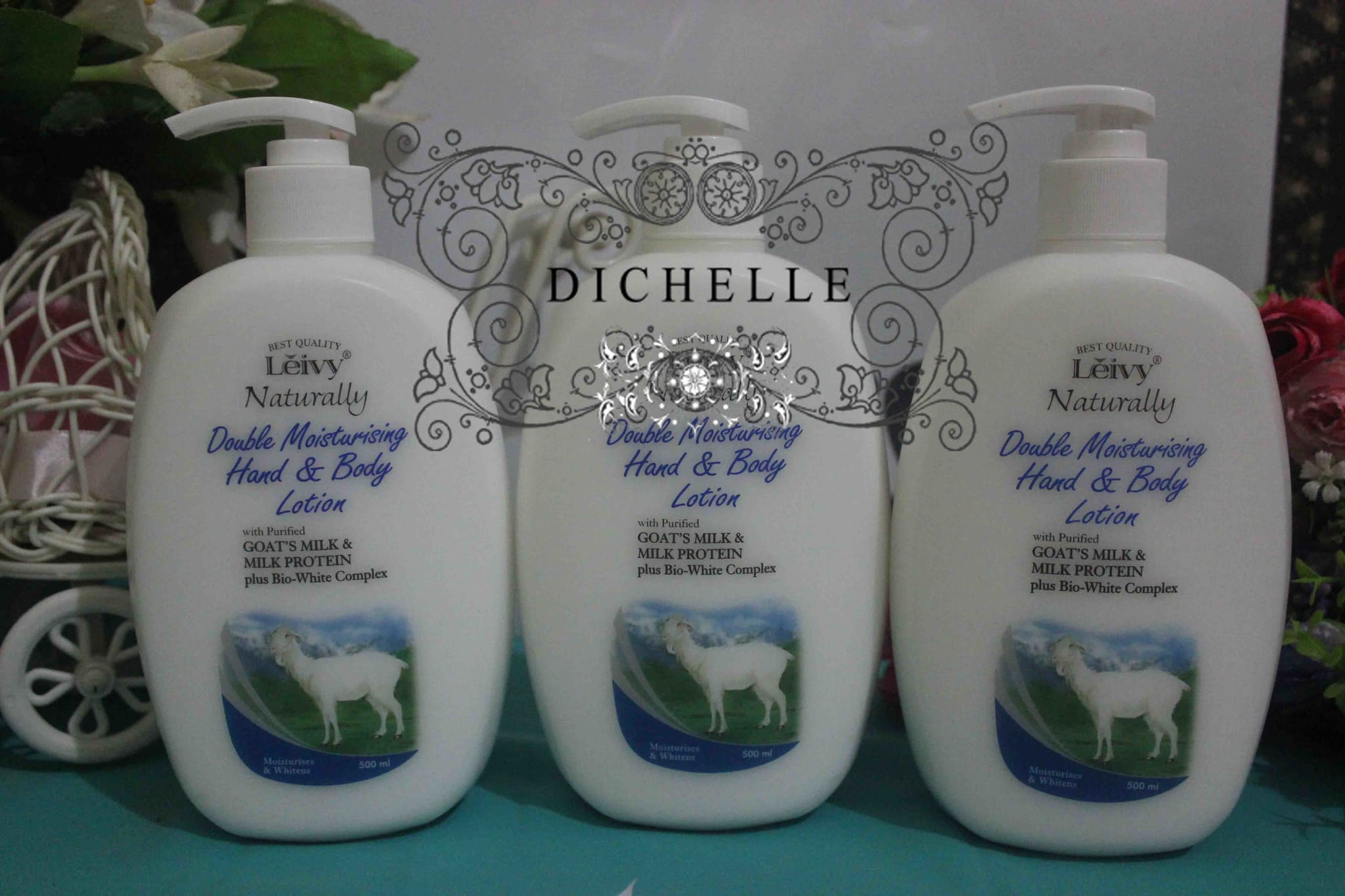 SALE MURAH DISKON PROMO Leivy Goat's Milk Hand And Body Lotion 500 ML