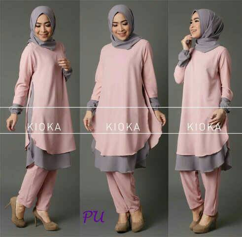 kioka hijab set 3in1