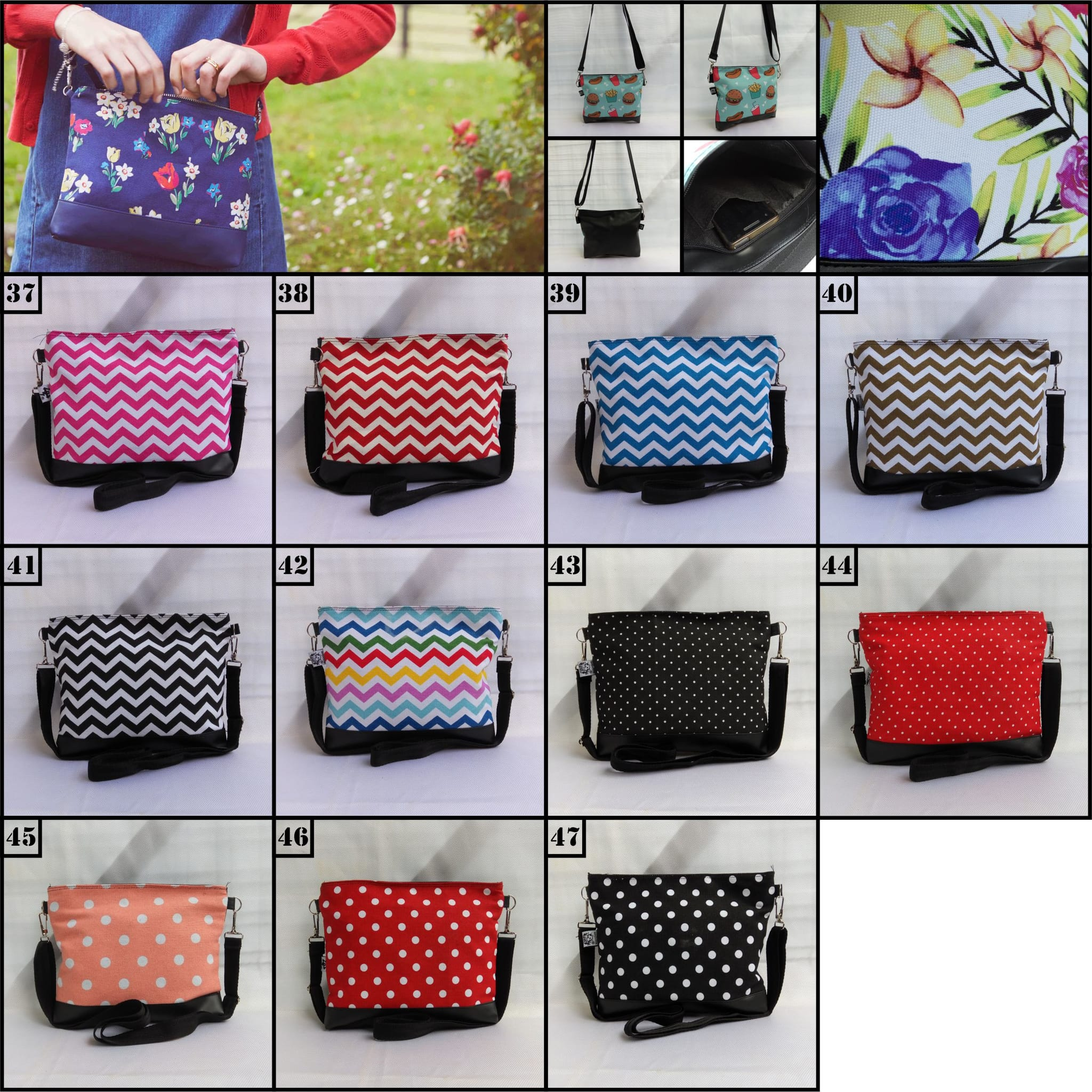 Sling bag tokopedia -  Sling Bag Mini Tas Selempang Mini Model Cath Kidston Murah