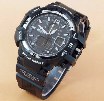 G-SHOCK GWA-1100 BLACK-WHITE