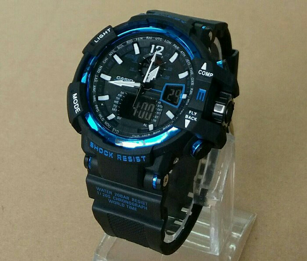 G-SHOCK GWA-1100 BLACK-BLUE