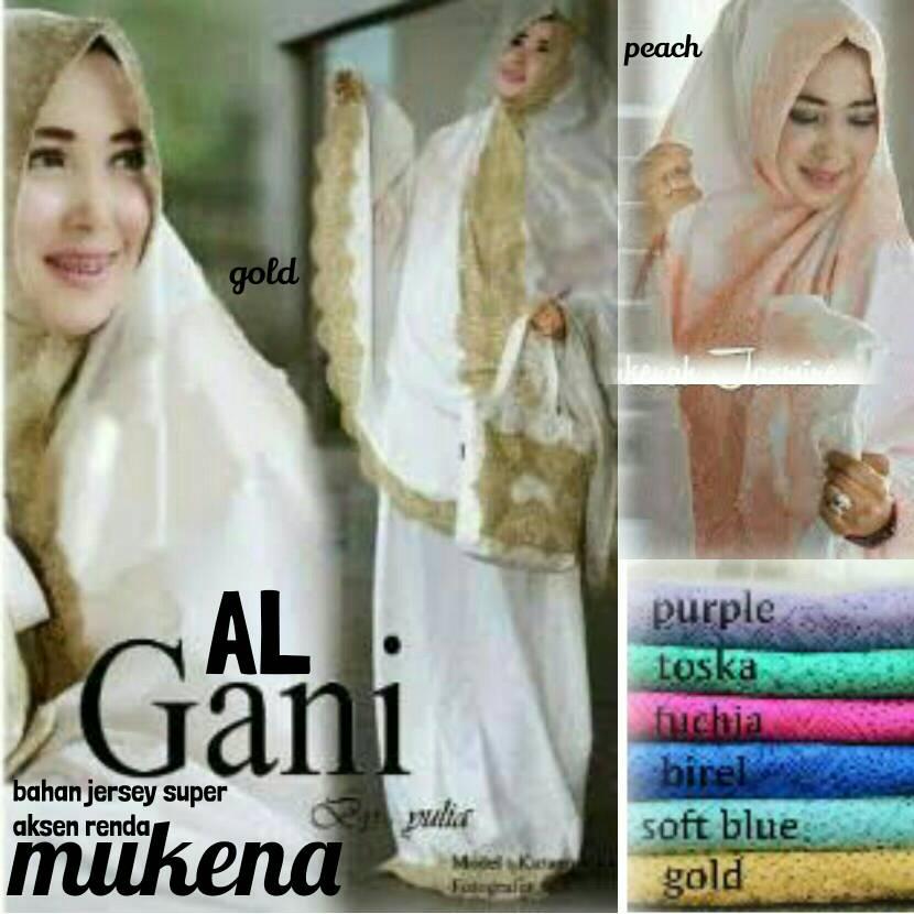 supliyer baju hijab / mukena alghani jersey