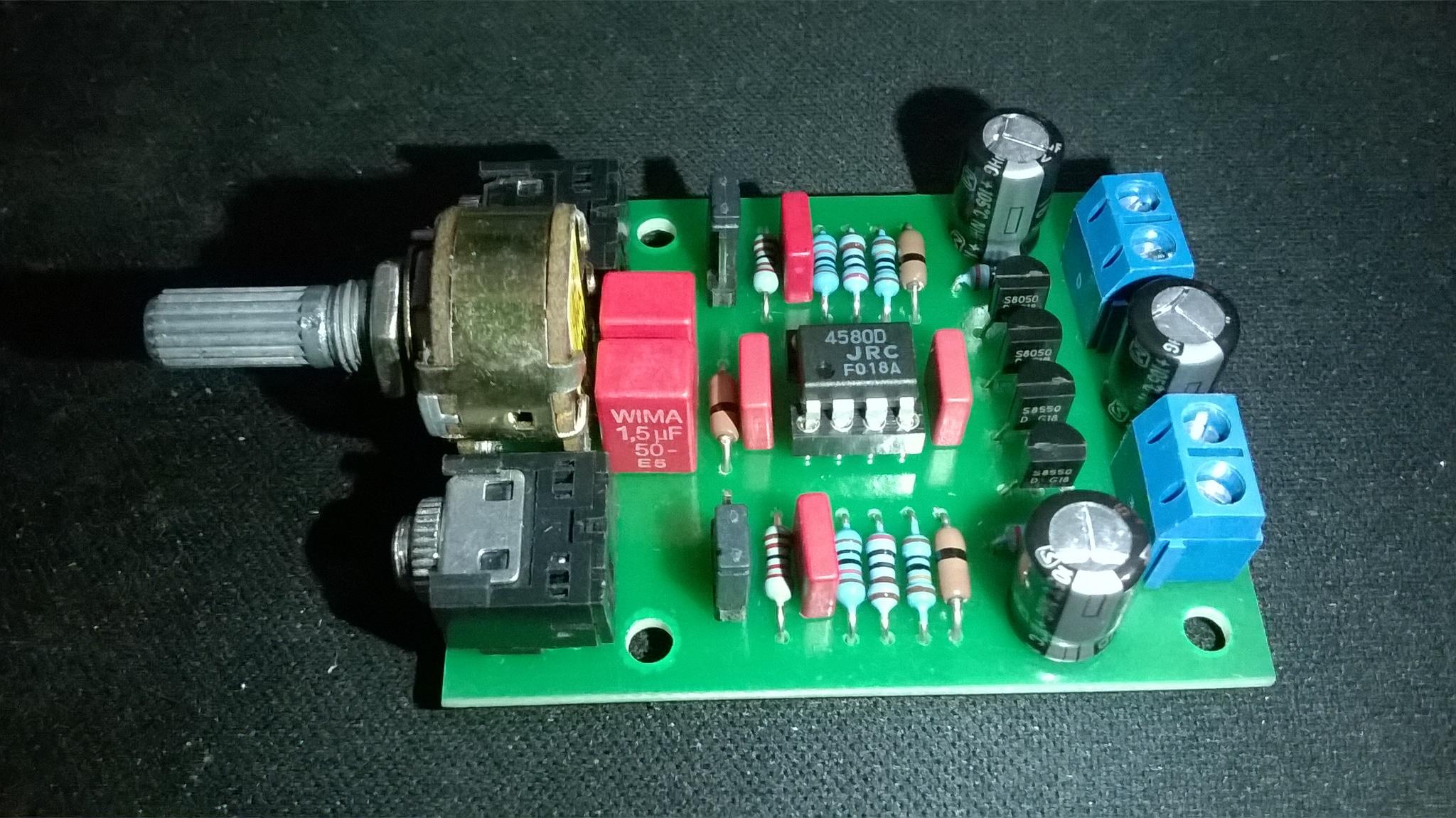 Jual Kit Cmoy Head Amp Headphones Amplifier 100mhz Elektronik Headphone Tokopedia