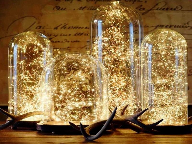 Jual Led String Lights : Jual Fairy Lights Micro LED String Light - Lampu Hias Unik Mini 10M LED - 51O Shop Tokopedia