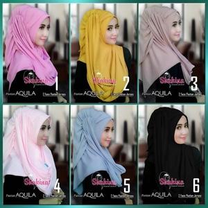 Jilbab Instan Pashmina Aquila pastan pasmina Instant Hijab