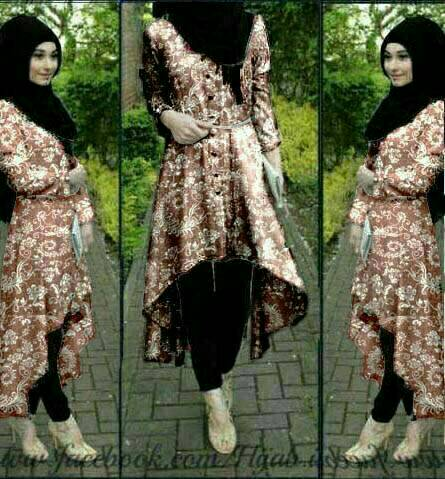 Set 3in1 Hijab Resha