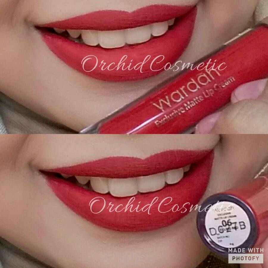 Jual New Wardah Exclusive Matte Lip Cream