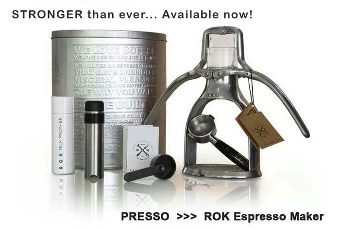 Jual ROK PRESSO ESPRESSO COFFEE MAKER