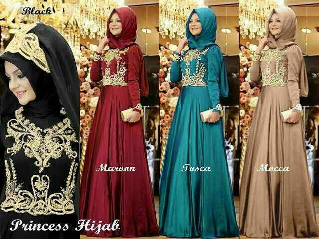 princes hijab  6warna fit L