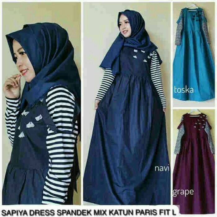 Sepia Dress / gamis / dress muslimah / long dress murah / Hijab