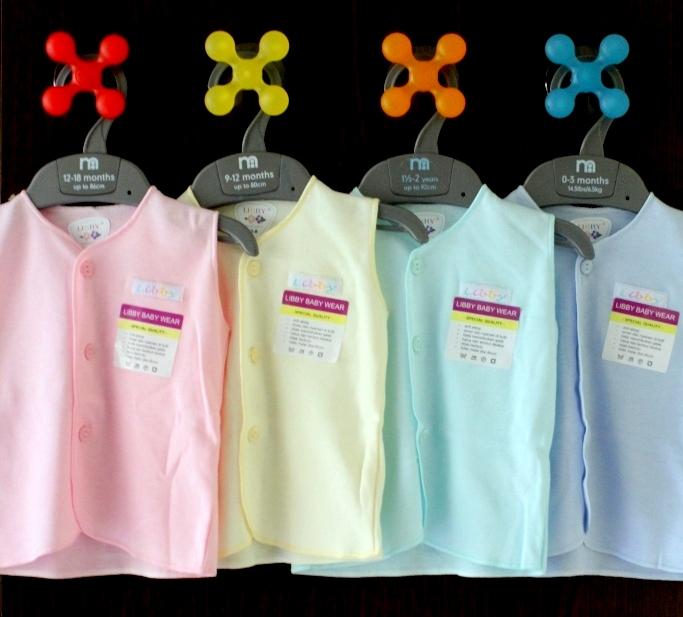 Jual Libby 3pc Baju Kutung Warna Putih 3 6m Lemari Anak