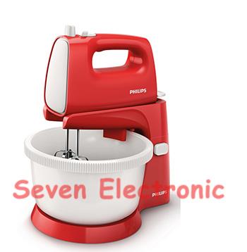 Stand Mixer PHILIPS HR1559 Putih Merah