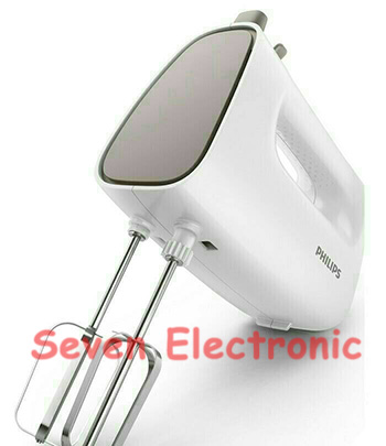 Hand Mixer PHILIPS HR1552 Putih Abu