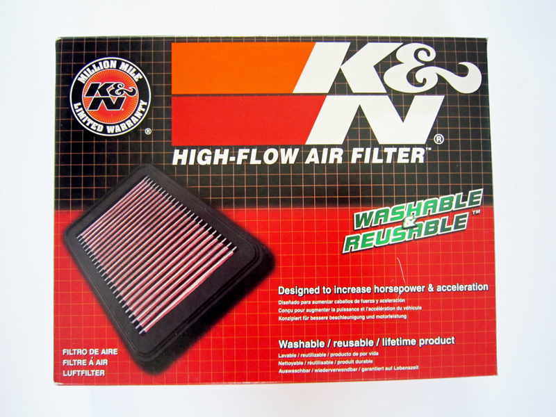 K&N 33-2422 - Filter Udara Honda Jazz 2008-2013 (GE)