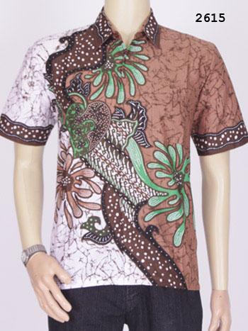 Jual Model Baju Kemeja Batik Modern Pria Assikah Batik