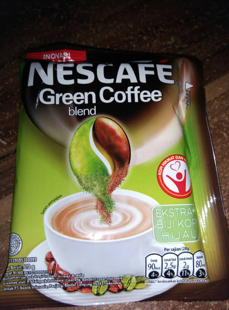 Jual Green Coffee Nescafe Blend