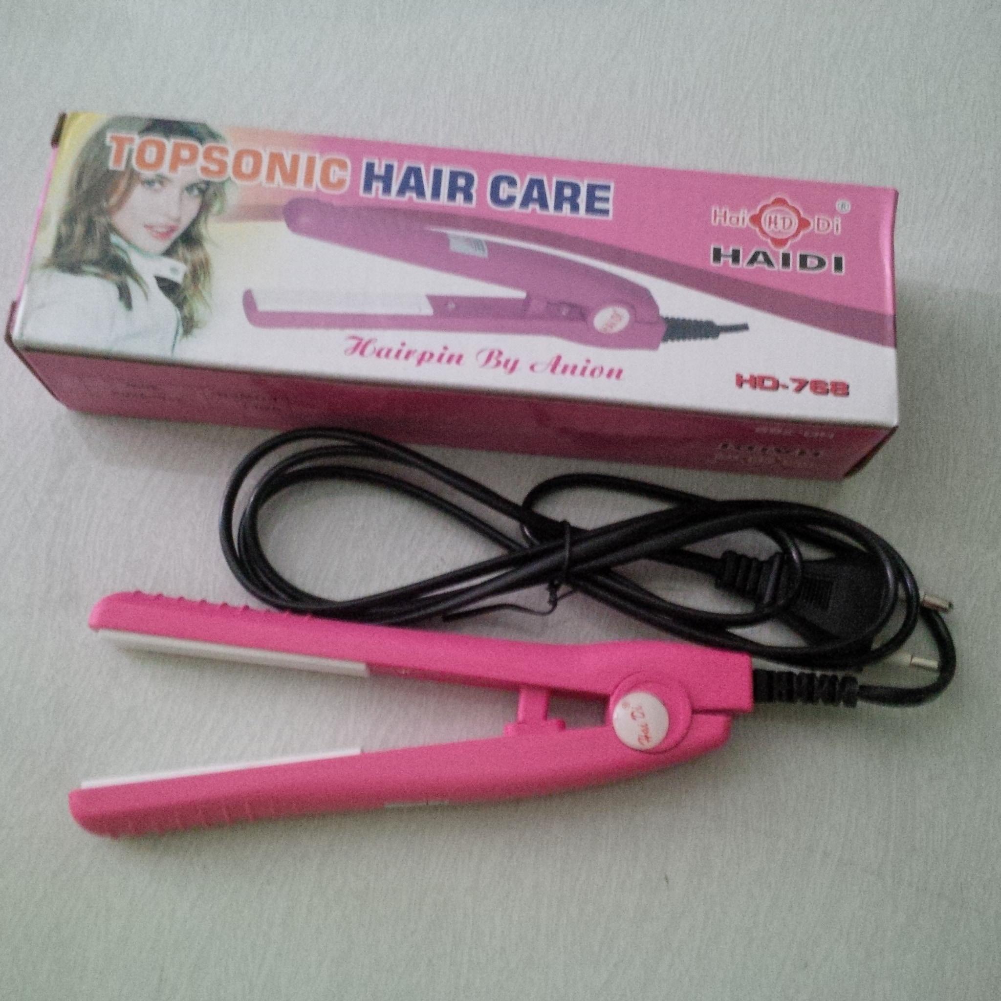 Panda Catok Rambut Mini Top Sonic Hair Care Pink Spec Dan Daftar Haidi Catokan Pelurus Jual Grosir Beauty Medan Tokopedia