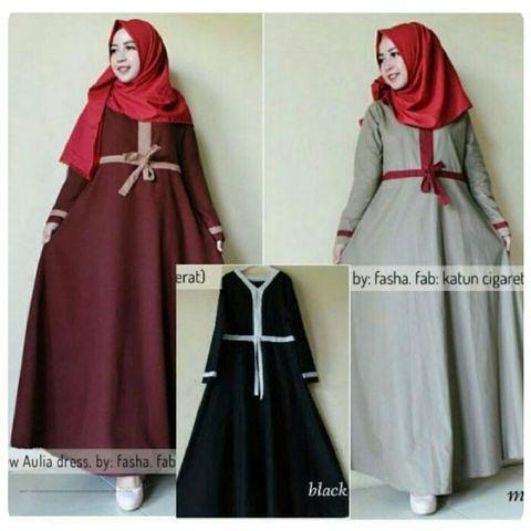 baju hijab HOTD aulia dress