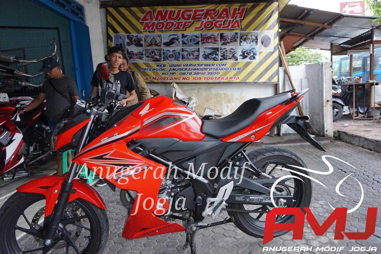Download Ide 64 Modifikasi Motor Honda All New Cb150r Terkeren Cb 150r Streetfire Raptor Black Sleman Jual Fairing Ala Z 250 Anugerah Modif Jogja
