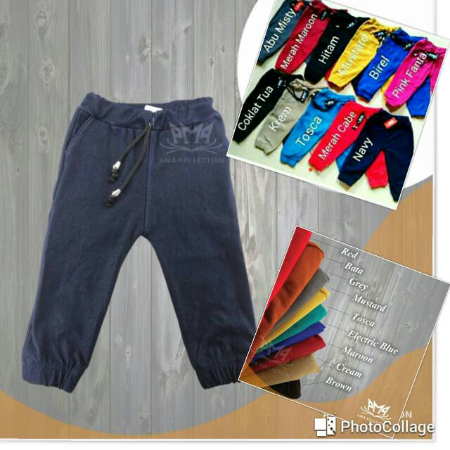 Joger Premium Anak Unisex Size M