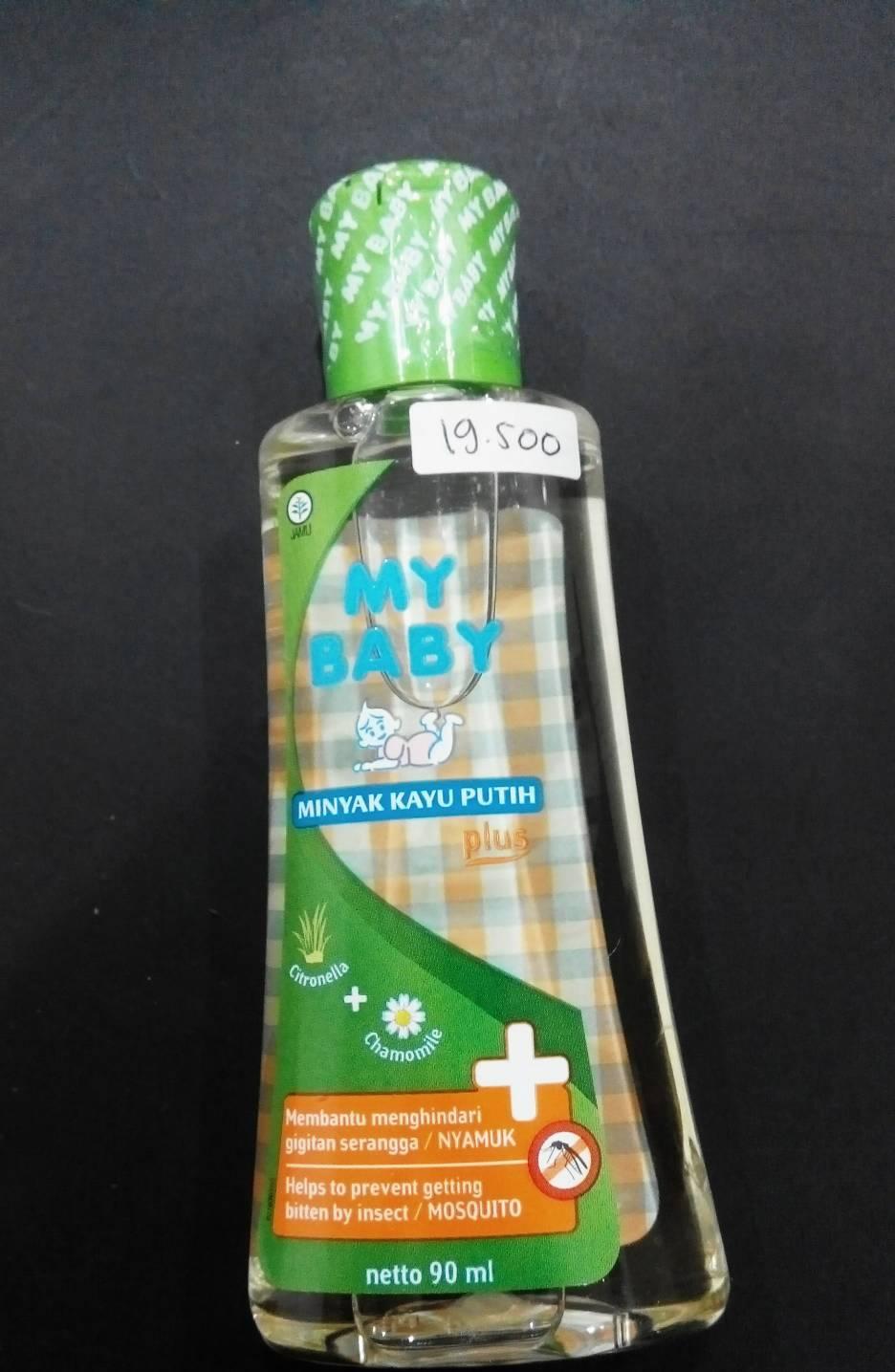 Jual Minyak Kayu Putih Plus My Baby 90 Ml 90ml Bayiraras Tokopedia Telon 150