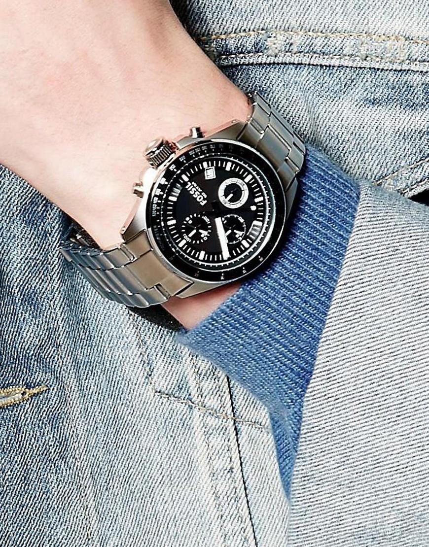 Jual Fossil Ch2600 Original Jam Tangan Pria Goodtime Watches Decker Chronograph Tokopedia