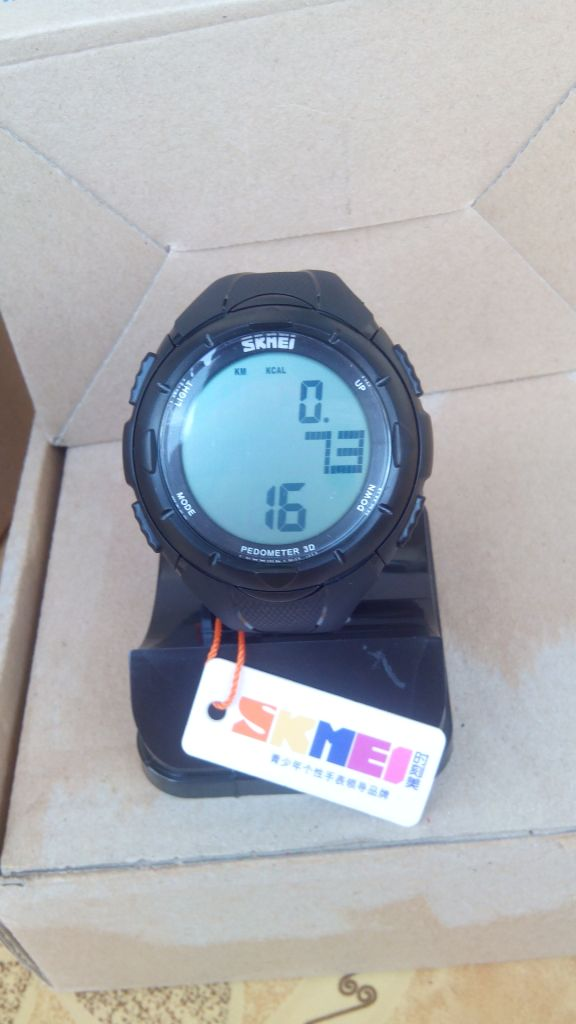 SKMEI DG1122S / 1122 RUNNING WATCH , PEDOMETER FUNCTION , JAM MURAH