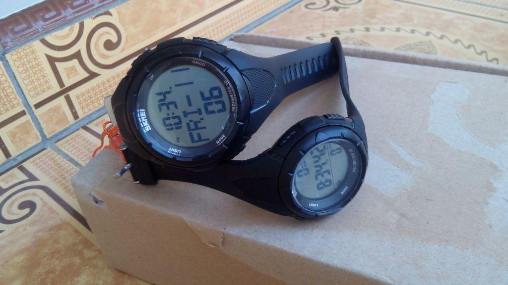 SKMEI DG1122S / 1122 RUNNING WATCH , PEDOMETER FUNCTION , JAM MURAH
