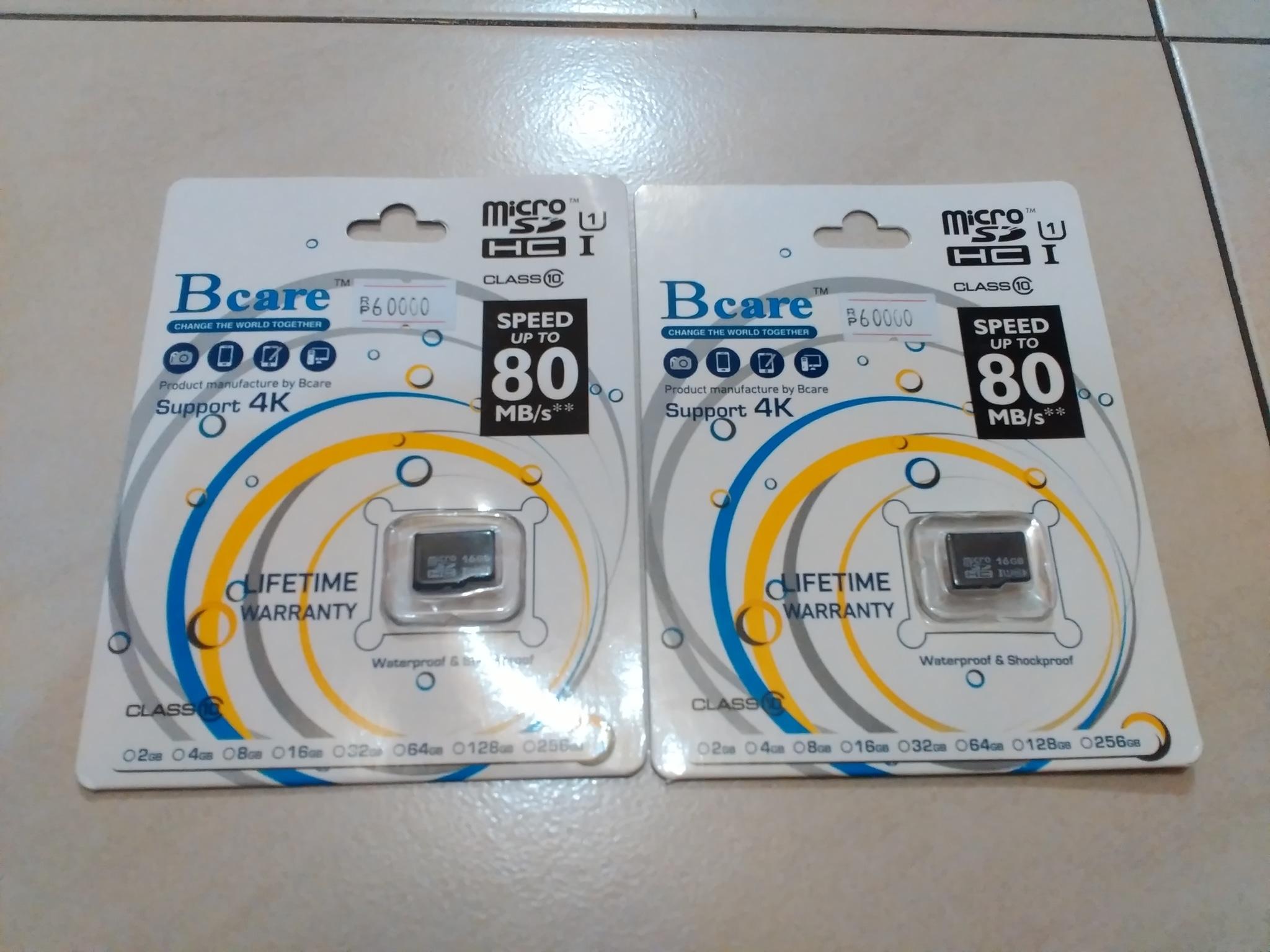 Jual Micro Sd Bcare 16gb Class 10 Speed Up To 80 Mbps Jdorkcustom Flashdisk Tokopedia