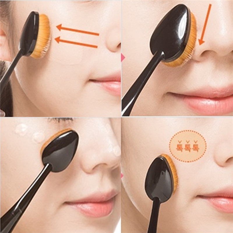 Image result for Oval Shaped Foundation Brush
