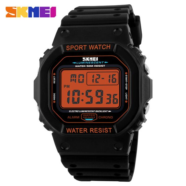 SKMEI S-Shock Sport Watch Water Resistant 50m - DG1134 ORIGINAL