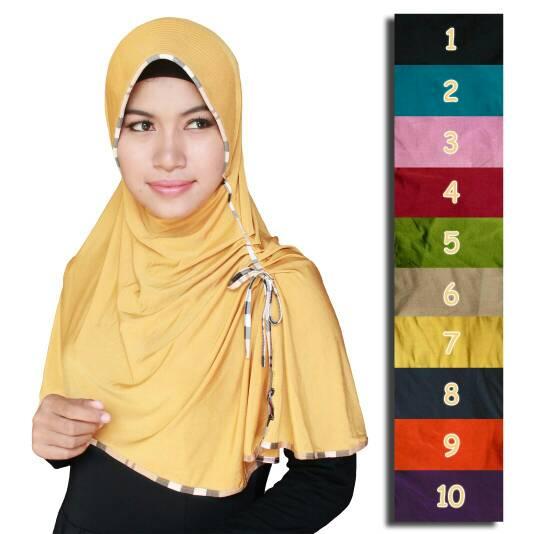 Hijab Sk List Kerut Seri 2