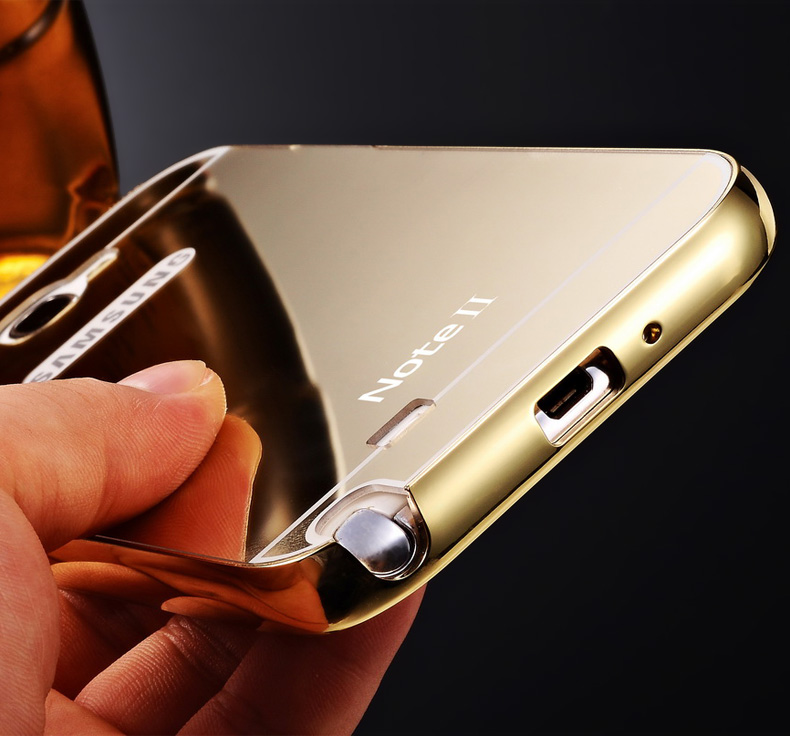 Case For Samsung Galaxy A3 2016 Alumunium Bumper With Mirror Source · Note 3 Neo Aluminium
