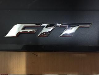 Emblem FIT. pengganti emblem honda jazz lokal