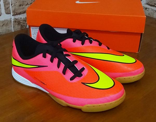 Jual Sepatu futsal Nike Hypervenom Phade IC Crimson Pink - Toko ... 8b9a48b27c