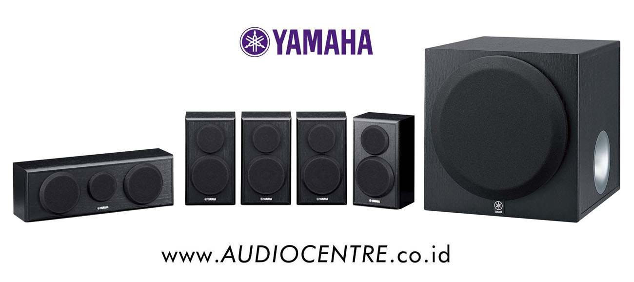 jual yamaha ns pa150 yst sw012 black audio centre. Black Bedroom Furniture Sets. Home Design Ideas