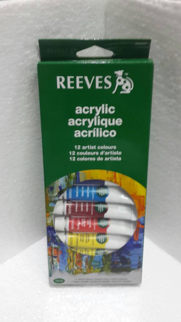 Reeves Acrylic 12clr 10ml