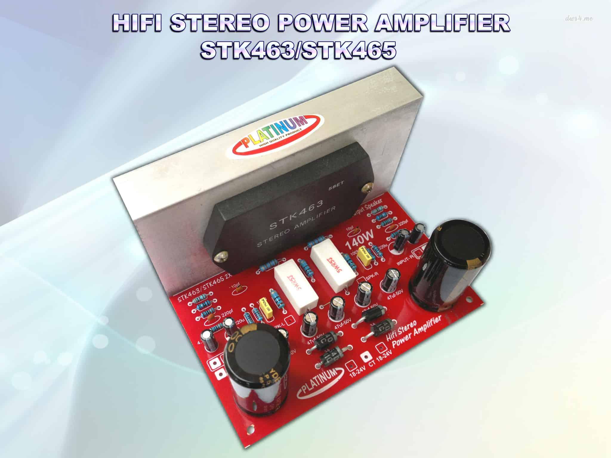 Jual Amplifier Ic Hybrid Stk465 Audiobbm Store Tokopedia Stk