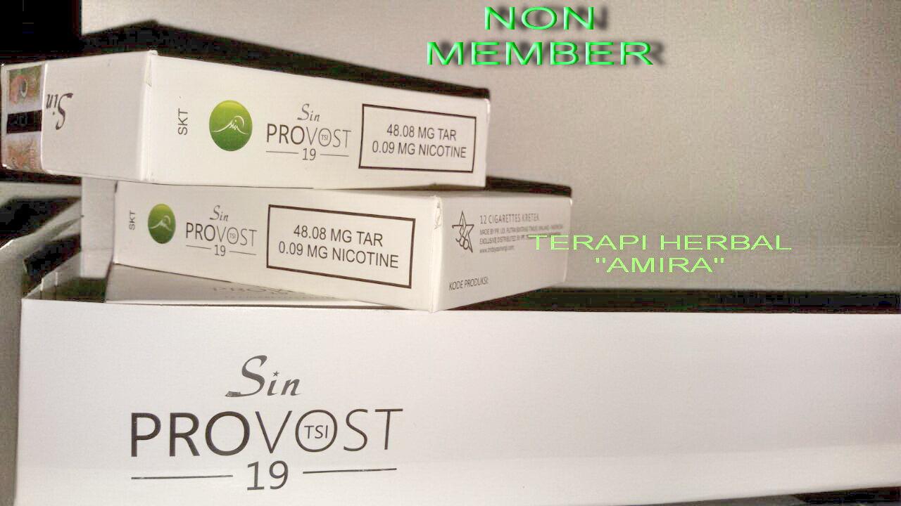 Rokok Herbal Tsi Provost 19 Www Lagilagi Net Belanja Lagi Untung Sin Jual Non Member Terapi