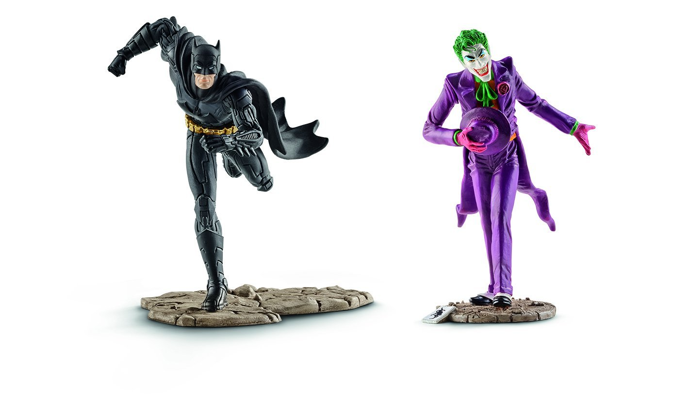 Schleich 22510 Batman vs The Joker Scenery Pack
