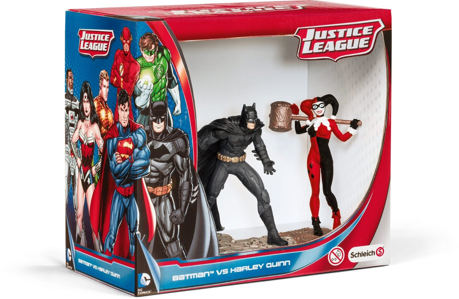 Schleich 22514 Batman vs Harley Quinn Scenery Pack