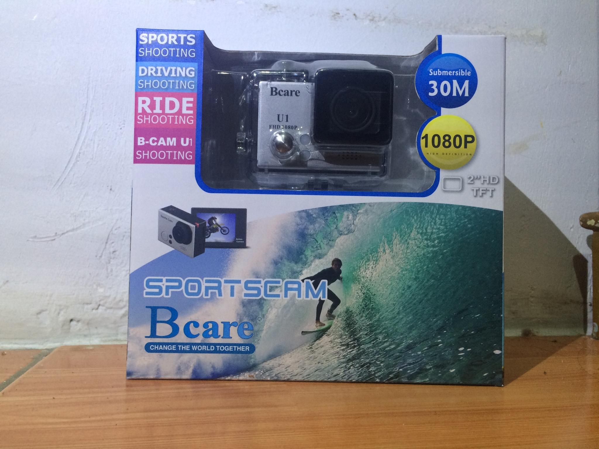 Jual Action Cam Bcare U1 Free Monopod Memory Card 16gb Batre 1 Flashdisk Ilovebogorshop Tokopedia