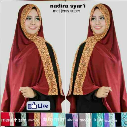 Hijab Jilbab Kerudung KHIMAR NADIRA