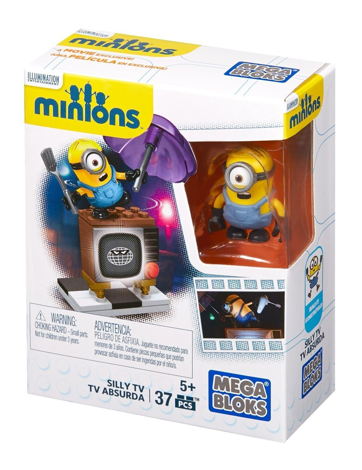 MEGA BLOKS CNF49 Minions - Silly TV