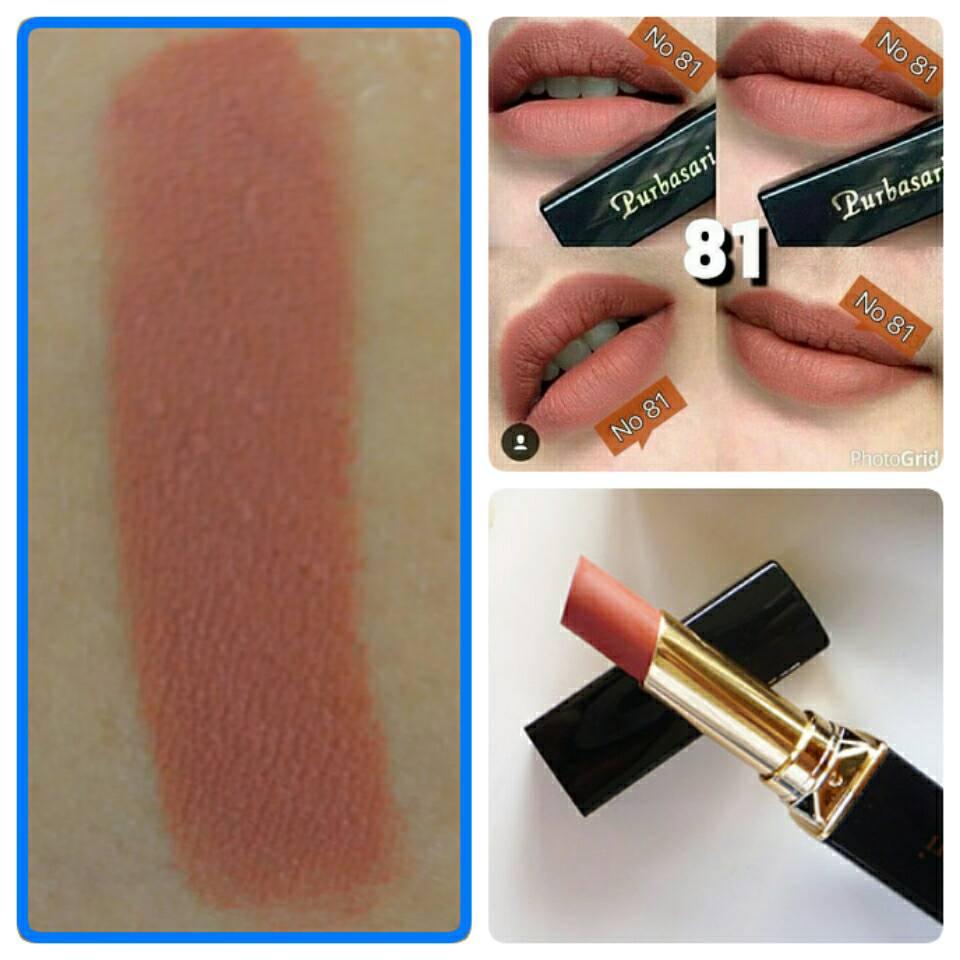 Purbasari Lipstick Color Matte 81 4gr Daftar Harga Terkini Dan