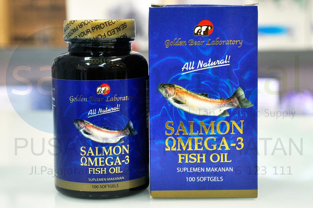 Jual golden bear salmon omega 3 fish oil minyak ikan for Sam s club fish oil