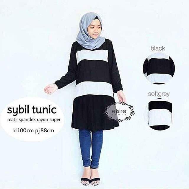 Baju Hijab Murah Syabil Tunik