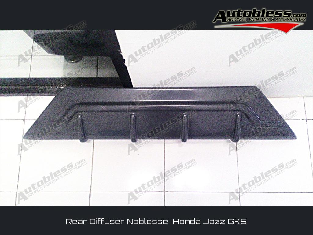 Diffuser Belakang Jazz GK5 Noblesse - Plastic ABS (Grade B)