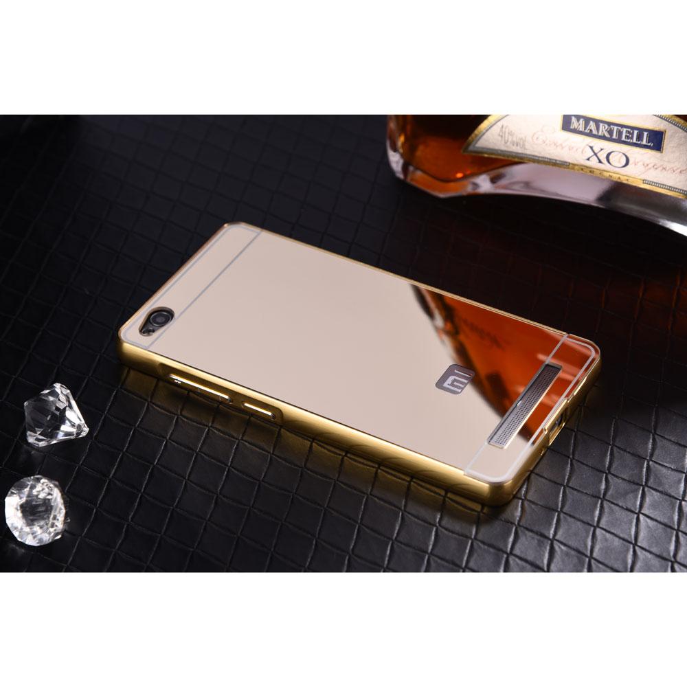 Jual Xiaomi Redmi 3 Alumunium Bumper Case Mirror Back Cover Soeka Mi Piston Huosai Earphone Oem Silver Phone Accesories Tokopedia