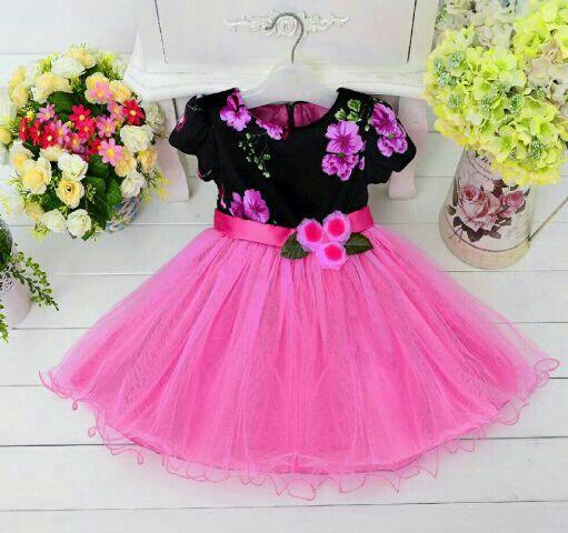 CGL-163842 - dress tasya pink / DRESS ANAK